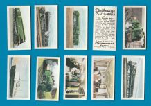 Cigarette cards set Railways of the World 1956, Flying Scotsman ,